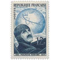 MAURICE NOGUÈS 1889-1934
