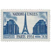 NATIONS UNIES PARIS 1951