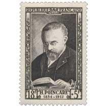 H. POINCARÉ 1854-1912