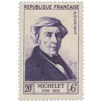 MICHELET 1798-1874