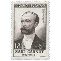 SADI CARNOT 1837-1894
