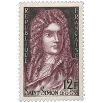 SAINT-SIMON 1675-1755