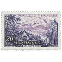 MARTINIQUE LE MONT PELÉ