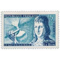 LE GAZ D'ÉCLAIRAGE LE BON 1767-1804