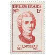 J.J. ROUSSEAU 1712-1778