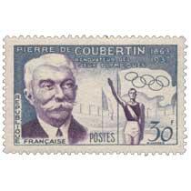 PIERRE DE COUBERTIN 1683-1937 RÉNOVATEUR DES JEUX OLYMPIQUES