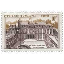PALAIS DE L'ÉLYSÉE-PARIS la Cour d'Honneur