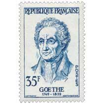 GOETHE 1749-1832