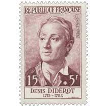 DENIS DIDEROT 1713-1784