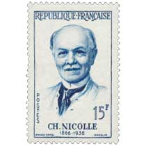 CH. NICOLLE 1866-1936