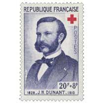 J. H. DUNANT 1828-1910