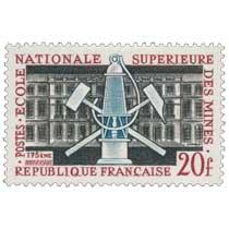 ÉCOLE NATIONALE SUPÉRIEURE DES MINES 175ÈME ANNIVERSAIRE