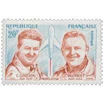 PILOTES d'ESSAI C. GOUJON 1912 - 1957 C. ROZANOFF 1905 - 1954