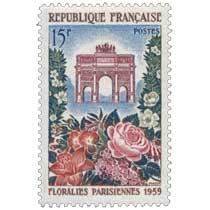 FLORALIES PARISIENNES 1959