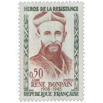 HÉROS DE LA RÉSISTANCE ABBÉ RENÉ BONPAIN 1908-1943