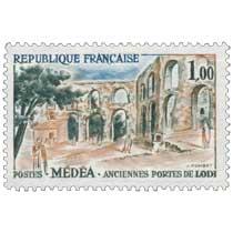 MÉDÉA - ANCIENNE PORTES DE LODI