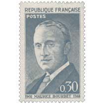 MAURICE BOURDET 1902-1944