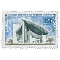 1964 CHAPELLE DE NOTRE-DAME DU HAUT (HAUTE-SAÔNE)