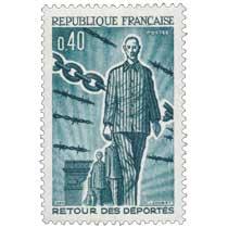 1965 RETOUR DES DÉPORTÉS