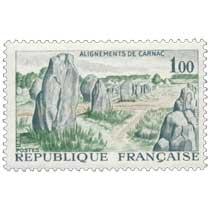 1965 ALIGNEMENTS DE CARNAC