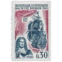 TRICENTENAIRE DU PEUPLEMENT DE L'ÎLE BOURBON 1665-1965
