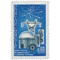 1965 20e ANNIVERSAIRE DU COMMISSARIAT À L'ÉNERGIE ATOMIQUE