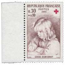 1965 COCO ÉCRIVANT