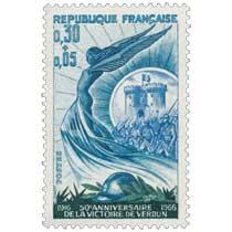 50e ANNIVERSAIRE DE LA VICTOIRE DE VERDUN 1916-1966