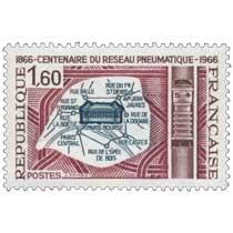 CENTENAIRE DU RÉSEAU PNEUMATIQUE 1866-1966