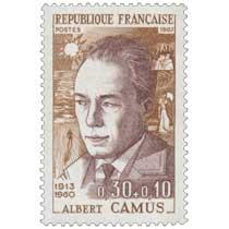1967 ALBERT CAMUS 1913-1960