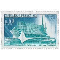 1967 MONTRÉAL PAVILLON DE LA FRANCE