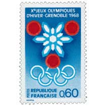 XES JEUX OLYMPIQUES D'HIVER - GRENOBLE 1968