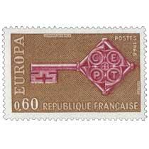 1968 EUROPA CEPT