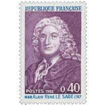 1968 ALAIN RENÉ LE SAGE 1668-1747