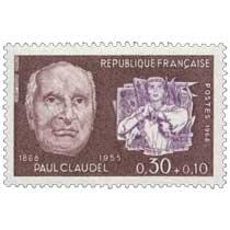 1968 PAUL CLAUDEL 1868-1955