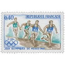 4x100m JEUX OLYMPIQUES DE MEXICO 1968
