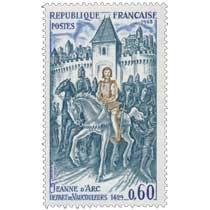1968 JEANNE D'ARC DÉPART DE VAUCOULEURS 1429