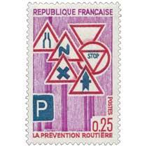 1968 LA PRÉVENTION ROUTIÈRE