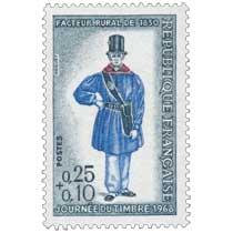 JOURNÉE DU TIMBRE 1968 FACTEUR RURAL DE 1830