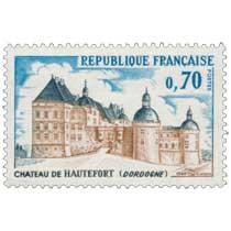 1969 CHÂTEAU DE HAUTEFORT (DORDOGNE)