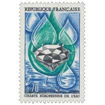 1969 CHARTE EUROPÉENNE DE L'EAU
