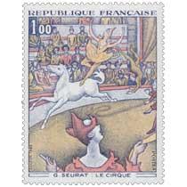 1969 G. SEURAT: LE CIRQUE