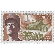1969 LIBÉRATION DE STRASBOURG 1944 2e DB GENERAL LECLERC MARECHAL DE FRANCE