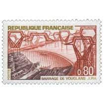 1969 BARRAGE DE VOUGLANS - JURA