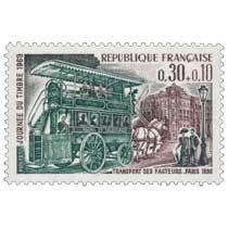 JOURNÉE DU TIMBRE 1969 TRANSPORT DES FACTEURS. PARIS 1830
