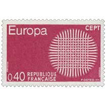 1970 Europa CEPT