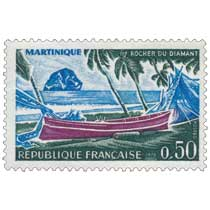 1970 MARTINIQUE ROCHER DU DIAMANT