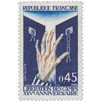 1970 LIBÉRATION DES CAMPS XXVe ANNIVERSAIRE