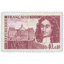 1970 LOUIS LE VAU 1612-1670