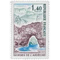 1971 GORGES DE L'ARDÈCHE